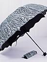 Plastický Pánské / Dámské / Dívčí Slunečník Skládací deštník