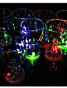 цвет мигающий маленький бокал со светодиодной вспышкой 1pc, праздничные и праздничные украшения