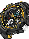 SANDA Men\'s Digital Japanese Quartz Wrist Watch Smartwatch Sport Watch Alarm Chronograph Water Resistant / Water Proof LED Noctilucent