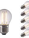E26/E27 LED лампы накаливания P45 2 светодиоды COB Тёплый белый Холодный белый 250lm 6500/2700K AC 220-240V