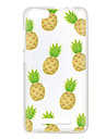 For Wiko Lenny 3 Sunset 2 Case Cover Pineapple Pattern Back Cover Soft TPU Lenny 3 Sunset 2
