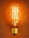 1pc 40W E26/E27 G95 2300 K Incandescent Vintage Edison Light Bulb AC 220V AC 220-240V V
