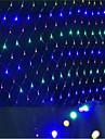Led Nets lights Christmas lights waterproof Colorized 1.5 * 1.5 M96 Lamp Socket