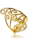 Women\'s Ring Costume Jewelry Gold Plated 18K gold Jewelry For Wedding Party Daily Casual