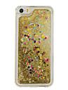 용 플로잉 리퀴드 / 패턴 케이스 뒷면 커버 케이스 심장 소프트 TPU 용 Apple 아이폰 7 플러스 / 아이폰 (7) / iPhone 6s Plus/6 Plus / iPhone 6s/6 / iPhone SE/5s/5 / iPhone 4s/4