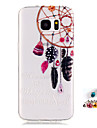 For Samsung Galaxy S7 S6 edge S5 Mini Cover Case Wind Chimes Pattern Painting IMD Technology Tpu Material Phone Shell And Dust Plug Combination
