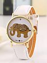 여성용 손목 시계 패션 시계 석영 / 캐쥬얼 시계 PU 밴드 빈티지 캐쥬얼 멋진 블랙