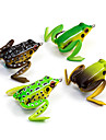 "1 pcs Soft Bait Fishing Lures Frog Brown Green Yellow Coffee  g/Ounce mm/21/8"" inch,Soft PlasticSea Fishing Spinning"