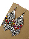 Drop Earrings Alloy Bohemia Black Red Blue Rainbow Jewelry Wedding Party Daily Casual 1 pair