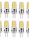 G4 LED Corn Lights T 20 SMD 2835 280-300 lm Warm White Cold White 3000-3500/6000-6500 K AC/DC 12 V