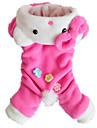 Кошка Собака Комбинезоны Одежда для собак Очаровательный На каждый день Животные Костюм Для домашних животных