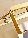 Toilet Paper Holder Contemporary Brass 1 pc - Hotel bath