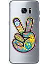 Case For Samsung Galaxy S7 edge S7 Ultra-thin Transparent Pattern Back Cover Cartoon Soft TPU for S7 edge S7 S6 edge plus S6 edge S6