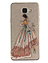 Case For Samsung Galaxy A5(2016) A3(2016) IMD Transparent Pattern Back Cover Sexy Lady Soft TPU for A5(2016) A3(2016) A5 A3
