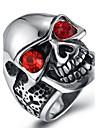 Муж. Массивные кольца Кольцо Цирконий Мода Циркон Титановая сталь Бижутерия Назначение Halloween Повседневные