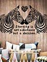 Декоративные наклейки на стены - Стикеры стикеров Words & Quotes Животные / Мода / Слова и фразы Гостиная / Спальня / Столовая