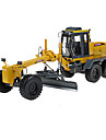 KDW Toy Cars Toys Construction Vehicle Motor Grader Toys Retractable Excavating Machinery ABS Metal Alloy Plastic Metal Classic &