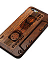 Pear Wood Magnetic Tape Hard Back Cover for iPhone 6S Plus/iPhone 6 Plus