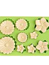Инструмент для отделки Цветы многообещающий конфеты Лед Шоколад Пицца Пироги Cupcake Печенье Торты Other Силикон Экологичные Своими
