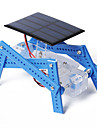 Crab Kingdom of Solar Panels Quadruped Robot DIY Hand Assembled Materials Package Educational Educational Equipment