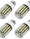 YouOKLight 1100 lm E26/E27 LED Corn Lights T 136 leds SMD 5733 Decorative Warm White AC 220-240V