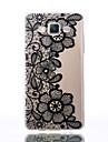 케이스 제품 Samsung Galaxy A5(2016) A3(2016) 투명 엠보싱 텍스쳐 패턴 뒷면 커버 꽃장식 소프트 TPU 용 A5(2016) A3(2016) A5 A3