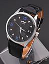 Муж. Спортивные часы Модные часы Наручные часы Механические часы Имитационная Четырехугольник Часы С автоподзаводом Натуральная кожа