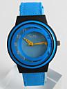 Жен. Модные часы Уникальный творческий часы Кварцевый / PU Группа На каждый день Синий Серый