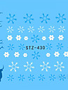 1pcs 아트 스티커 네일 물 전송 데칼 메이크업 화장품 아트 디자인 네일