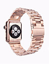 Watch Band for Apple Watch Series 3 / 2 / 1 Apple Wrist Strap Butterfly Buckle Stainless Steel
