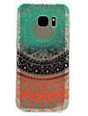 Coque Pour Samsung Galaxy S8 Plus S8 Transparente Motif Coque Arriere Impression de dentelle Flexible TPU pour S8 S8 Plus S7 edge S7 S6