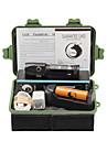 U\'King Lanternas LED Kits de Lanternas LED 2000 lm 3 1 Modo Cree XM-L T6 Foco Ajustavel Recarregavel Clipe para Campismo / Escursao /
