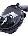 Sets de Masque et tuba Masques de plongee Paquets de plongee Masque de Snorkeling Masues Integrales 180 degres Bouteille Etanche-Enfant