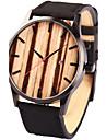 Муж. Спортивные часы Нарядные часы Модные часы Наручные часы Часы-браслет Часы Дерево Японский кварц Панк Натуральная кожа Группа Винтаж