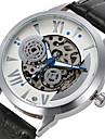 Муж. Спортивные часы Нарядные часы Часы со скелетом Модные часы Наручные часы Механические часы С автоподзаводом Натуральная кожа Группа