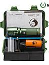 U\'King LED-Ficklampor LED Cree® XM-L T6 utsläpps 2000 lm 5 Belysning läge med batteri och laddare Zoombar Justerbar fokus Camping / Vandring / Grottkrypning Vardagsanvändning Multifunktion