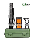 U\King Torce LED Kit per torce LED 2000 Lumens 5 Modo Cree XM-L T6 Si Messa a fuoco regolabile per Campeggio/Escursionismo/Speleologia