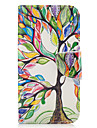 For Samsung Galaxy A3(2016) A5(2017) Case Cover Tree Pattern PU Material Painted Mobile Phone Case A3(2017) A5(2016)