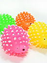 Cat Toy Dog Toy Pet Toys Ball Chew Toy Interactive Squeaking Toy Teeth Cleaning Toy Cartoon Squeak / Squeaking Elastic Durable Thrust