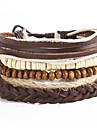 Браслеты-цепочки и звенья Богемия Стиль бижутерия Кожа Свисающие Бижутерия Назначение Спорт