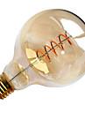 1pc 4W 300-400lm E26 / E27 LED Filament Bulbs G95 1 LED Beads COB Soft Filament Decorative Warm White 220-240V