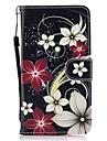 غطاء من أجل Samsung Galaxy J5 (2016) / J3 (2016) محفظة / حامل البطاقات / مع حامل غطاء كامل للجسم زهور قاسي جلد PU إلى J5 (2017) / J5 (2016) / J5