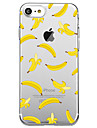 Para iPhone X iPhone 8 Case Tampa Ultra-Fina Transparente Capa Traseira Capinha Fruta Macia PUT para Apple iPhone X iPhone 8 Plus iPhone