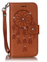 For SamsungS7 edge S7 Card Holder with Stand Flip Case Full Body Case Dream Catcher Hard PU Leather for S6 edge S6 S5mini S5 S4mini S4 S3 8190