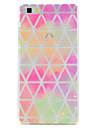 For Huawei P10 P9 Lite Case Cover Transparent Pattern Back Cover Case Geometric Soft TPU for P10 Plus P8 Lite2017P8 Lite