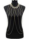 Women\'s Body Jewelry Body Chain Fashion Necklace Belly Chain Bohemian Tassels Alloy For Party Special Occasion Beach Bikini Jewelry