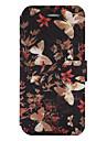 Кейс для Назначение SSamsung Galaxy S8 Plus S8 Бумажник для карт со стендом Флип С узором Чехол Бабочка Твердый Искусственная кожа для S8