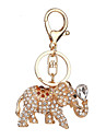 Key Chain Toys Key Chain Elephant Metal 1 Pieces Not Specified Christmas Valentine\'s Day Gift