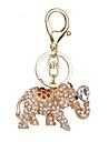 Porte-cles Jouets Porte-cles Elephant Metal 1 Pieces Non specifie Noel La Saint Valentin Cadeau