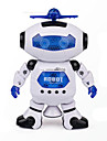 Space Dance Music Infrared Electric Robot Toy Rotate 360 Degrees Lights
